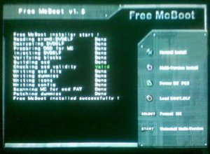 How to install mc boot on ps2 without cd
